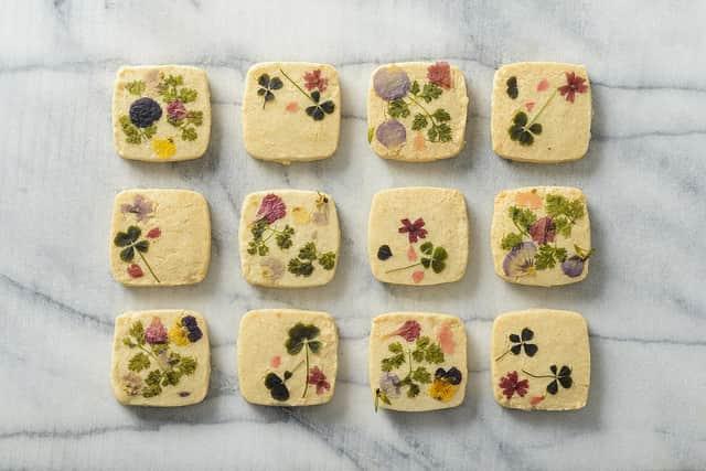 お取り寄せ お花のクッキー