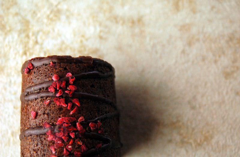 濃厚タイプのチョコレートふくれ菓子