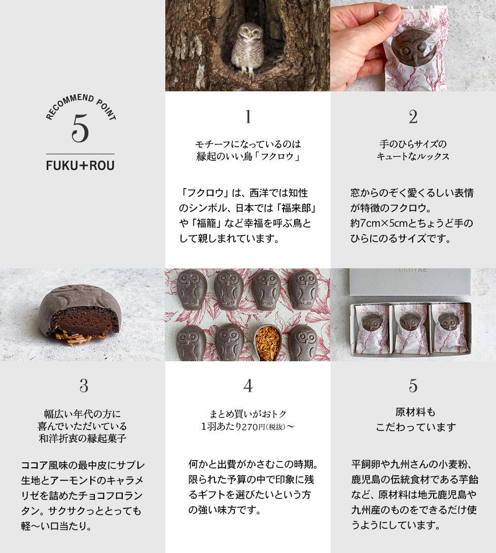チョコフクロウ5つのポイント