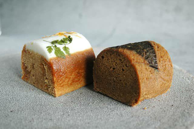 桜島小みかんと黒糖のふくれ菓子