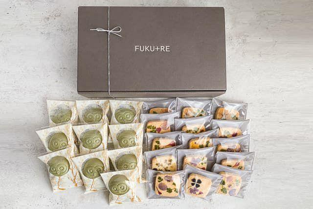 プチフギフトに個包装タイプのかわいいお花のクッキー