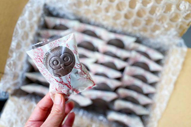 個包装になっているので配りやすく、バレンタインのプチギフトとしても一番人気のスイーツです。