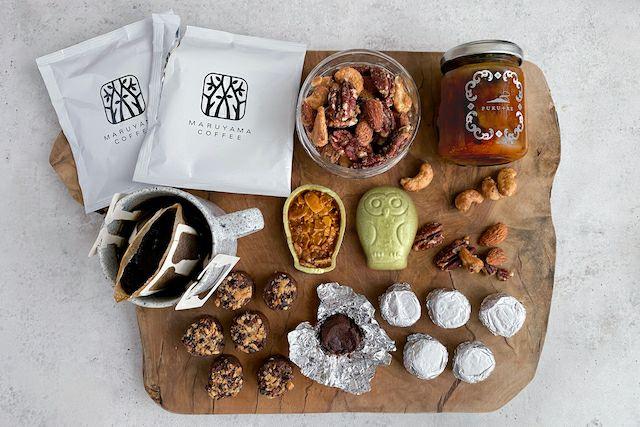 4種の焼き菓子と丸山珈琲のギフトセット